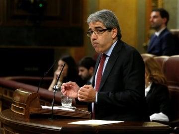 El portavoz de Democracia i Llibertat, Francesc Homs