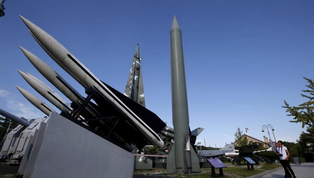 Corea del Norte lanza misiles de corto alcance tras las sanciones de la ONU
