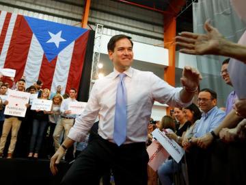 El candidato republicano, Marco Rubio.