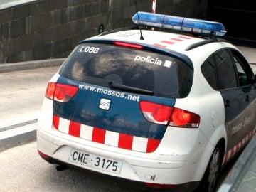 Un coche de los Mossos d´Esquadra.