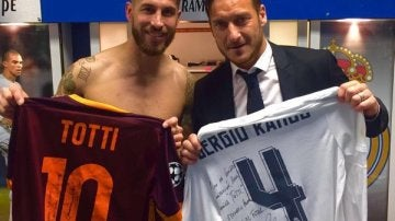 Sergio Ramos y Totti