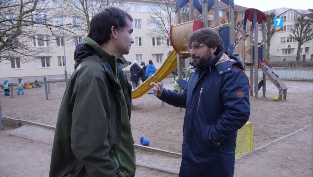 Un padre en Suecia, con Jordi Évole