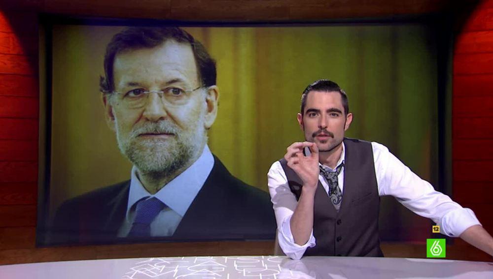 """Dani Mateo sobre los lapsus de Rajoy: """"Dejádle hablar, Ley Mordaza para todos menos para el presidente"""""""