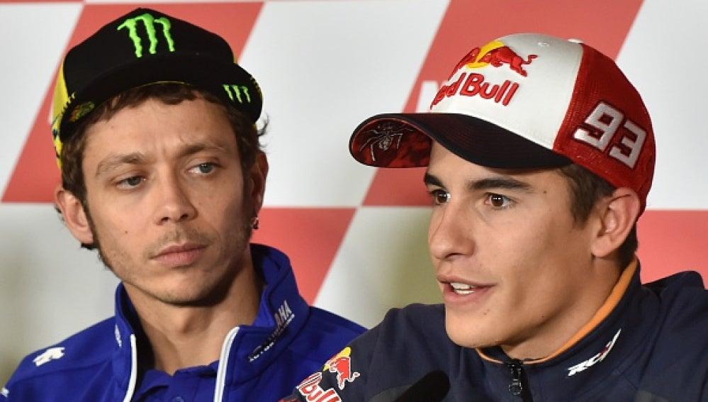 Rossi y Márquez