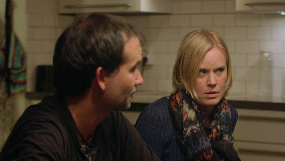 David Pallarès y Emma Carlson, una pareja con dos hijos