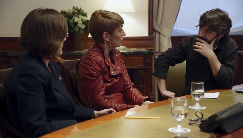 Las diputadas Lourdes Ciuró y Ascensión de las Heras hablan en Salvados