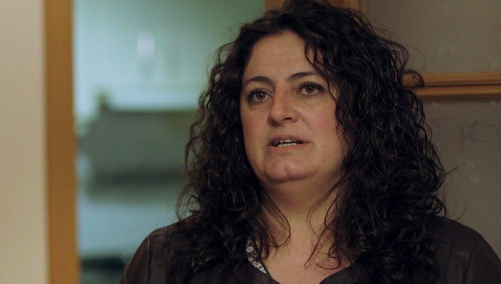 Mónica Cano, madre trabajadora