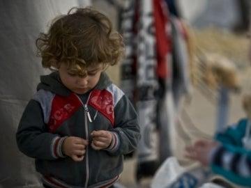 Según Unicef, 306.000 niños nacieron como refugiados desde 2011