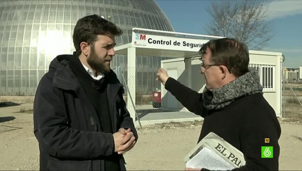 """José Antonio Hernández: """"El tamaño del Instituto de Medicina Legal permitiría albergar tragedias como las del 11M todos los días"""""""