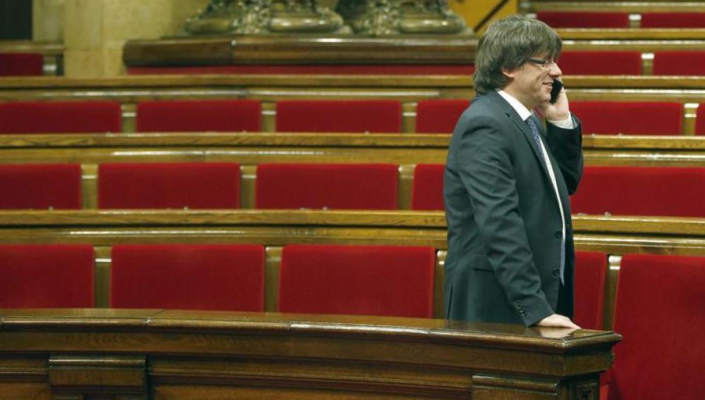 Carles Puigdemont, president de la Generalitat de Catalunya