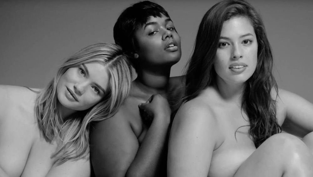 Las modelos de tallas grandes protagonistas del anuncio