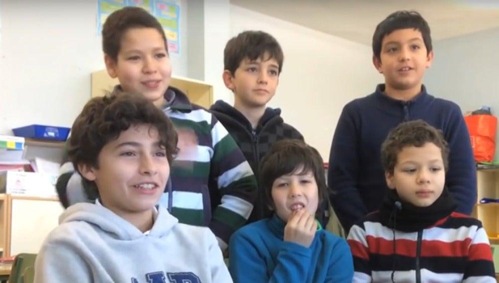 Imagen de varios alumnos que han creado esta iniciativa