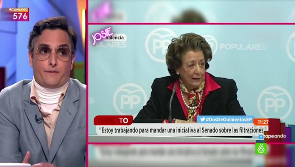 Josie analiza el look de Rita Barberá