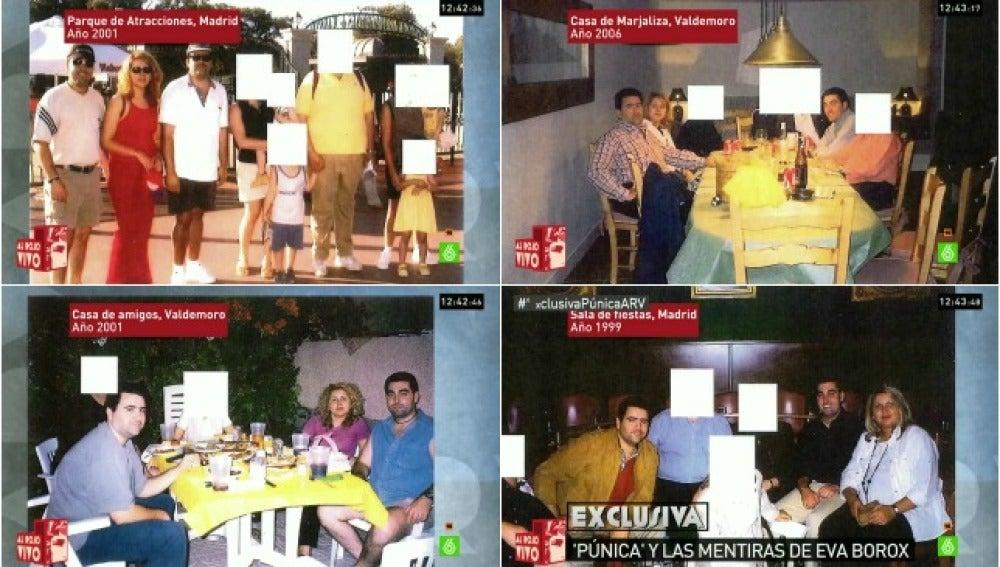 Las imágenes que demuestran la relación de Eva Borox con Marjaliza