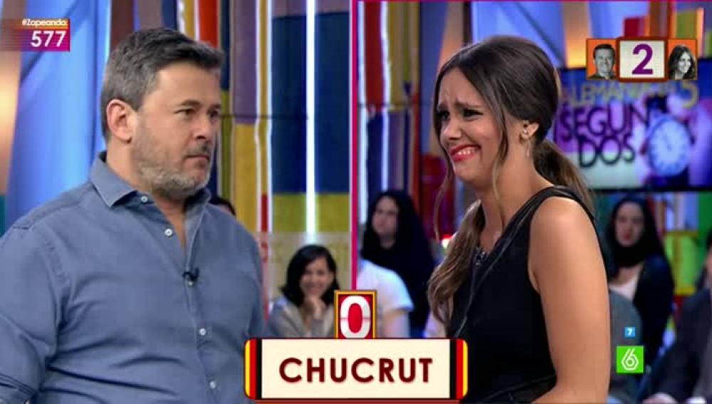 Cristina Pedroche reacciona ante la definición de 'chucrut'