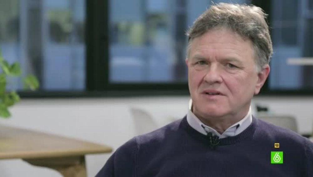 Peter Saunders, víctima de abusos sexuales