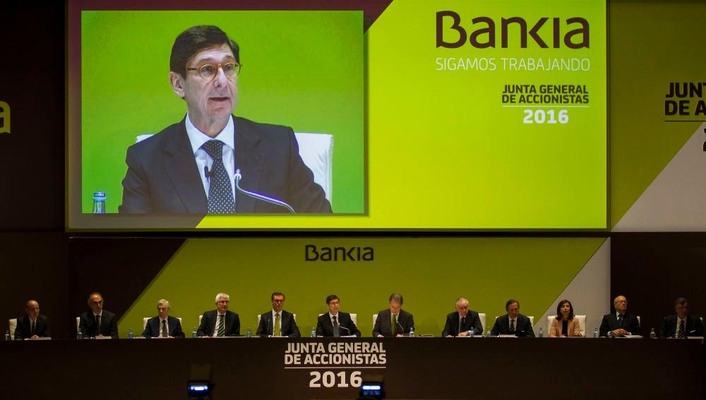 Junta general de accionistas de Bankia