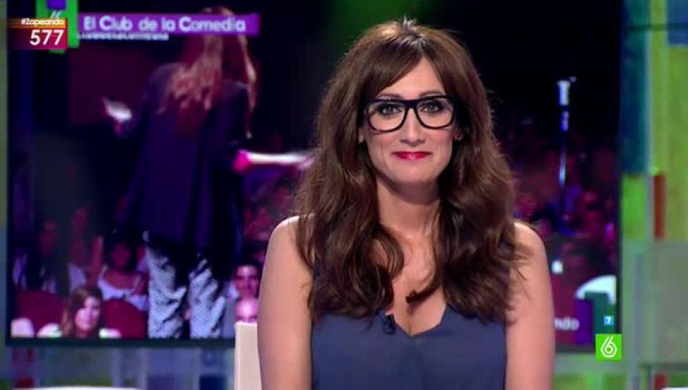Ana Morgade, la nueva presentadora de El Club de la Comedia