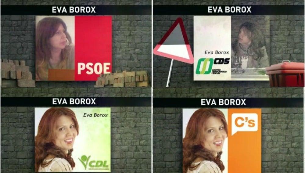 Trayectoria política de Eva Borox