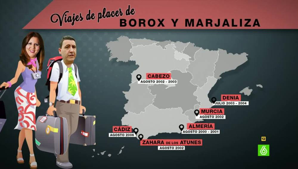 Los viajes de placer de Borox y Marjaliza