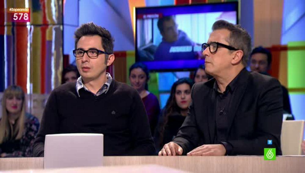Andreu Buenafuente y Berto Romero visitan Zapeando