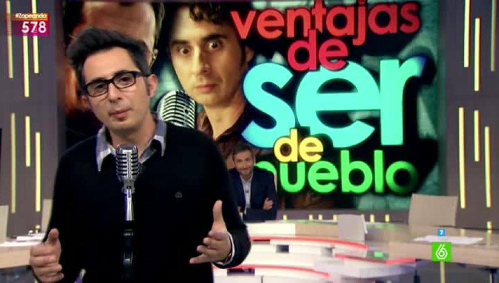 Berto Romero, en Zapeando