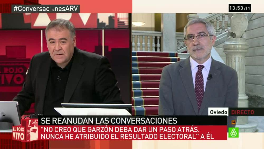 Gaspar Llamazares en ARV