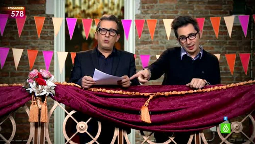 Buenafuente y Berto dan el primer pregón de Zapeando