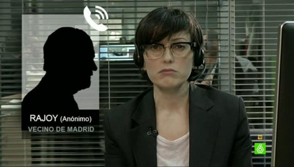 Un vecino anónimo se hace pasar por Mariano Rajoy:
