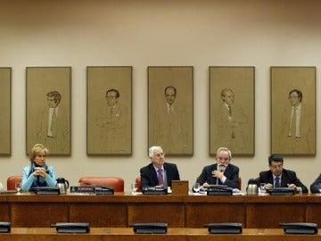 Silla vacía de Pedro Morenés en el Congreso de los Diputados