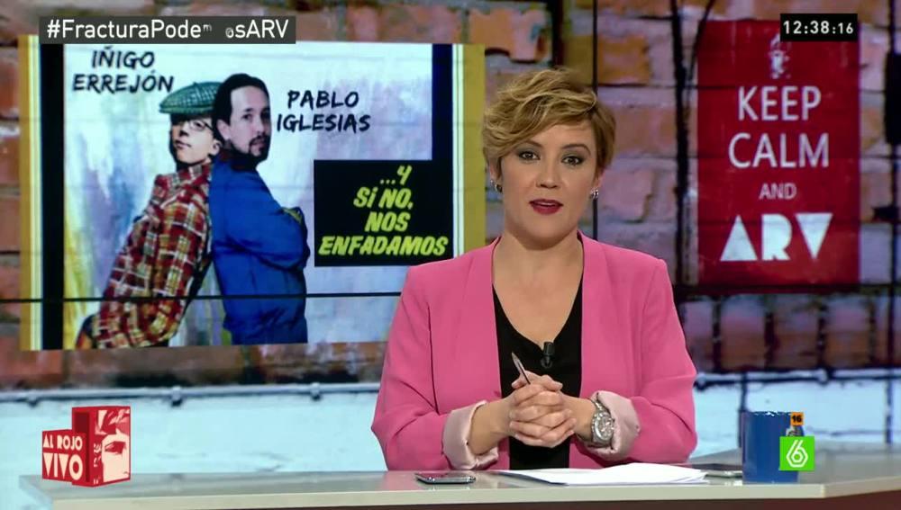 Cristina Pardo en Al Rojo Vivo