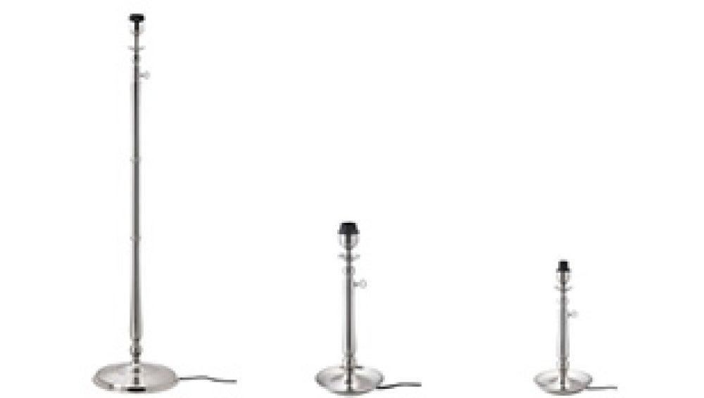 Los tres modelos de lámparas Gothem retirados del mercado por Ikea