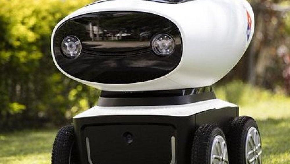Prototipo de un robot repartidor de pizzas