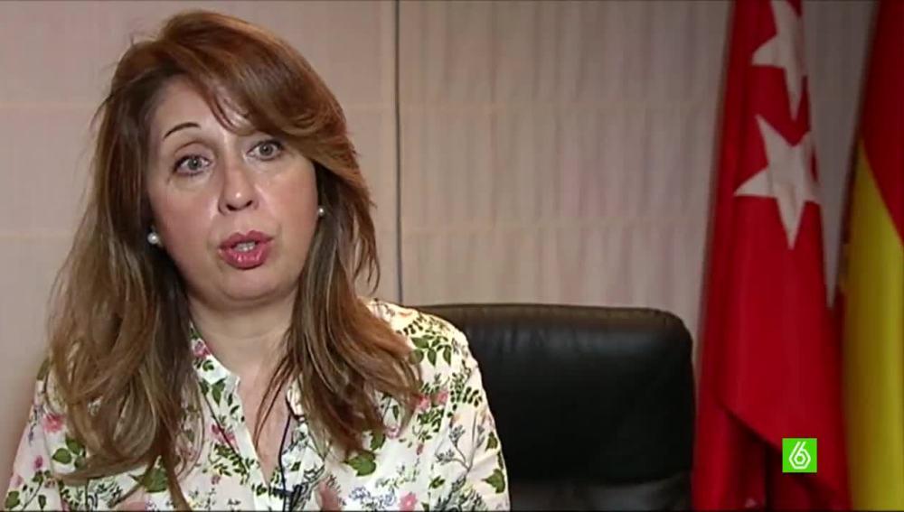 María del Valle, alcaldesa de Moraleja de Enmedio