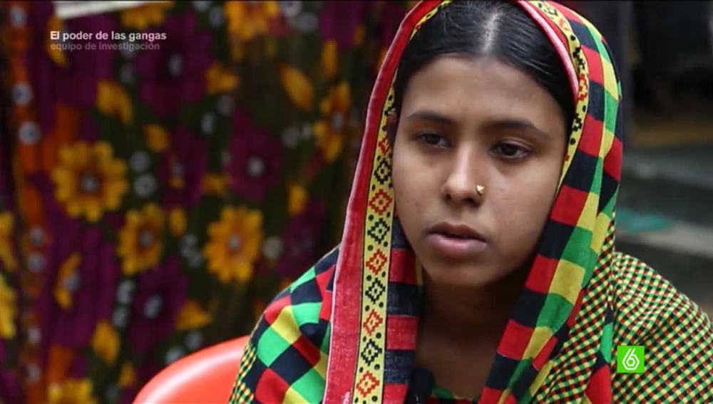 Mushamud, extrabajadora textil