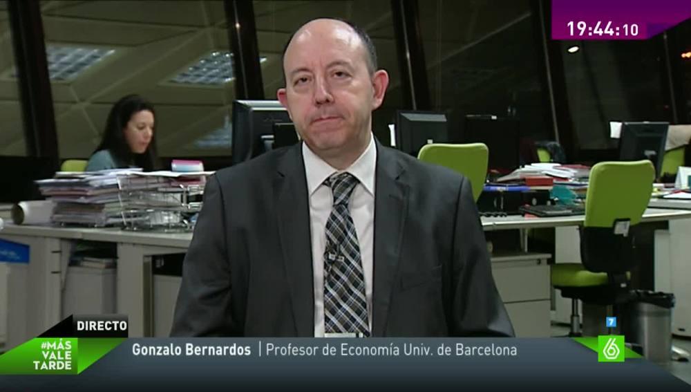 Gonzalo Bernardos en Más Vale Tarde