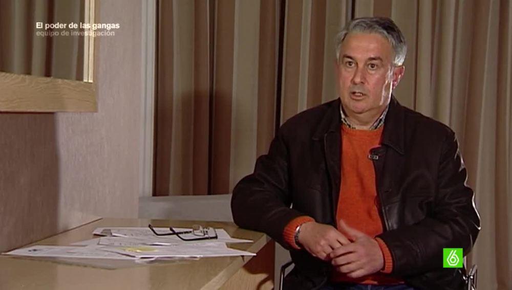 Manuel Benito, extrabajador de Primark