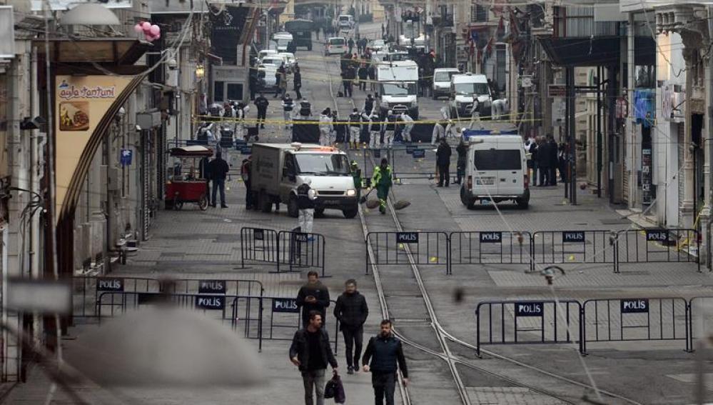 Estambul tras el atentado suicida