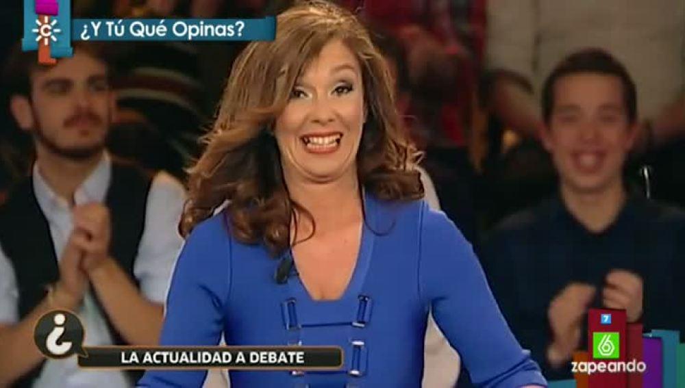 Mariló Maldonado, presentadora de la televisión andaluza