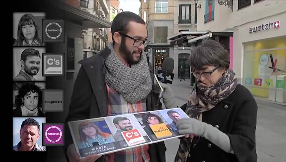 Un ciudadano asocia a Juan Antonio Delgado con el Partido Popular