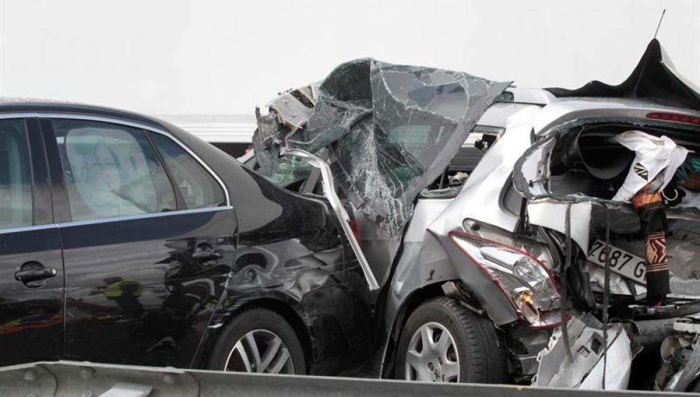 Imagen de un accidente en Salamanca