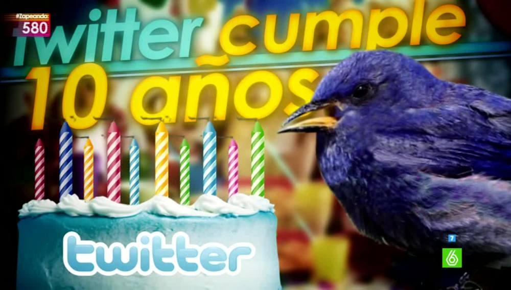 Décimo aniversario de Twitter