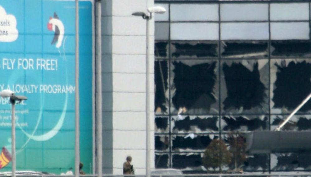 Terminal del aeropuerto de Bruselas
