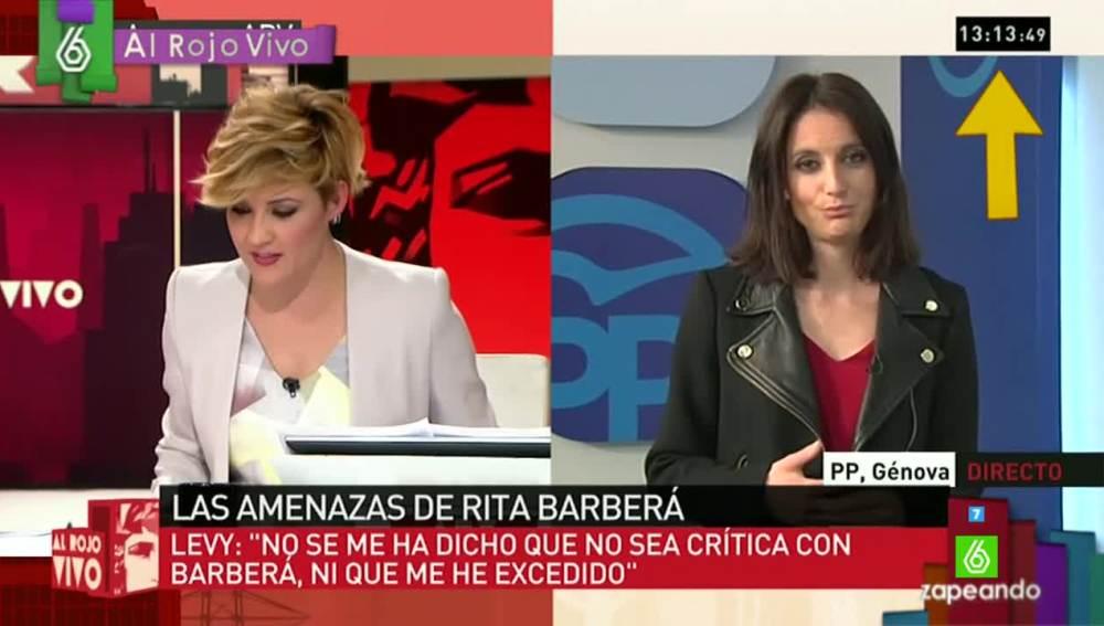 Cristina Pardo entrevista a Andrea Levy