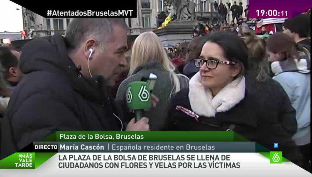 María Cascón, en Más Vale Tarde