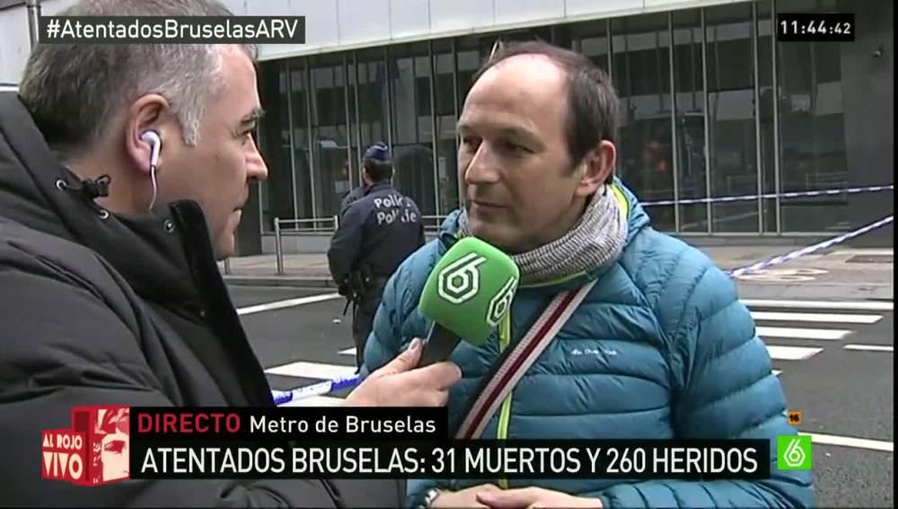 Ángel Rodríguez, testigo del atentado