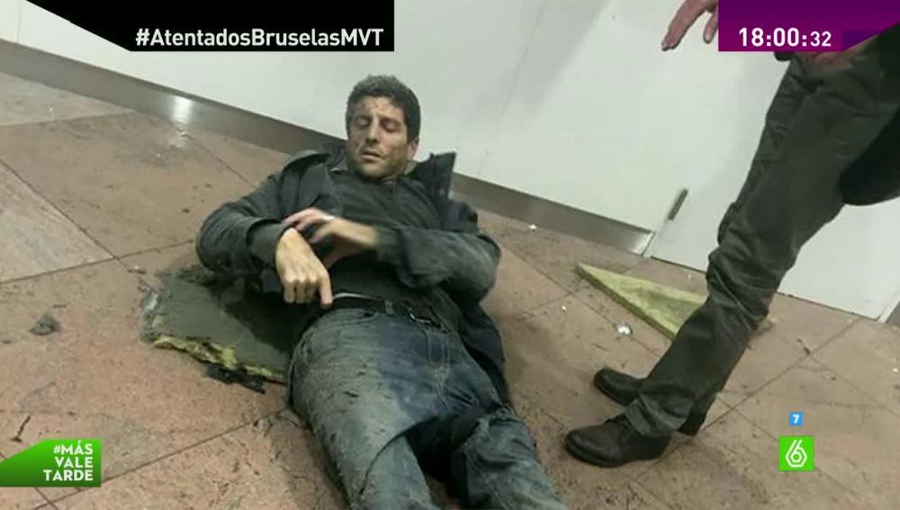 Sebastien Bellin afectado por los atentados