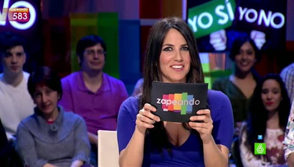 Irene Junquera, en Zapeando