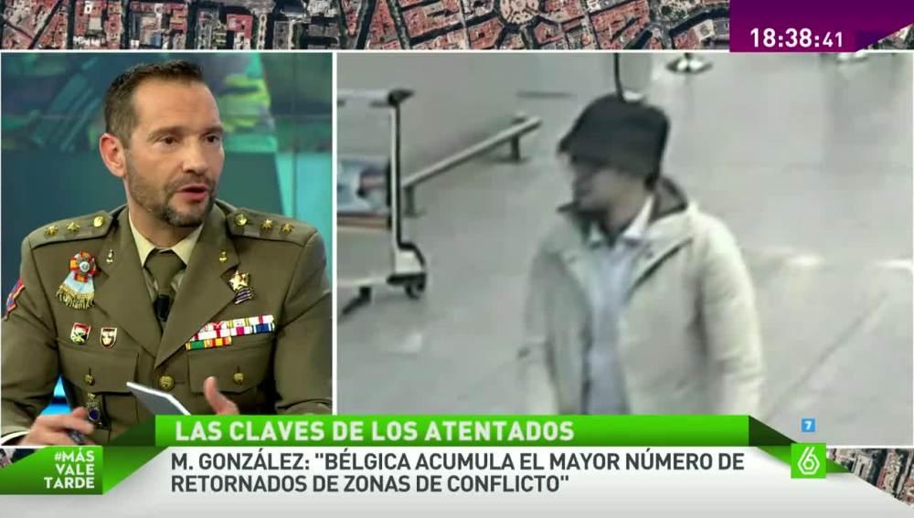 Manuel González, teniente coronel de la Escuela de Guerra