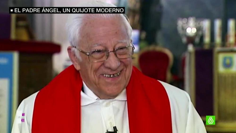 Padre Ángel, un quijote moderno